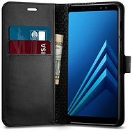 Spigen Wallet S Black Samsung Galaxy A8 (2018)