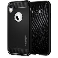 Spigen Rugged Armor Black iPhone XR - Mobile Case