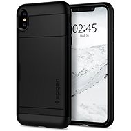 Spigen Slim Armor CS Black iPhone XS Max - Mobile Case