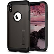 Spigen Slim Armor Gunmetal iPhone XS Max - Mobile Case