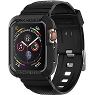 Spigen Rugged Armor Pro Black Apple Watch 6/SE/5/4 44mm - Protective Case