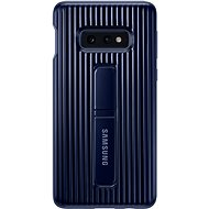 Samsung Galaxy S10e Protective Standing Cover Blue - Mobile Case