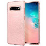 Spigen Liquid Crystal Glitter Rose Samsung Galaxy S10 - Mobile Case