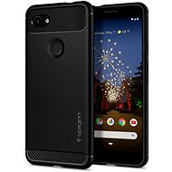 Spigen Rugged Armor for Google Pixel 3a, Black - Mobile Case
