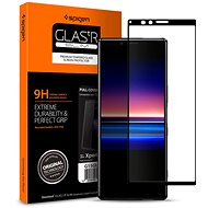 Spigen Glas tR Curved black Sony Xperia 1 - Glass protector