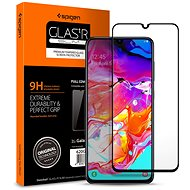 Spigen Glass FC Black Samsung Galaxy A70 - Glass protector