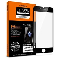 Spigen Glass FC Black iPhone 8/7 - Glass protector