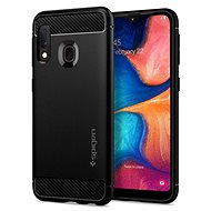Spigen Rugged Armor Black Samsung Galaxy A20e - Mobile Case