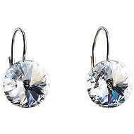 Earrings with Swarovski Crystals 31106.1 (925/1000; 2.2g) - Earrings