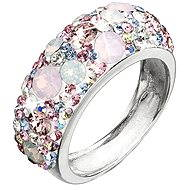 SWAROVSKI ELEMENTS Ring Magic Rose Decorated With Crystals 35031.3 (925/1000; 4.1g) size 52 - Ring