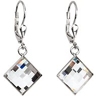 Crystal Earrings Decorated Swarovski Crystals 31158.1 (925/1000; 3.4g) - Earrings