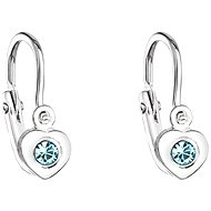 Aqua Children's Earrings made with Swarovski® Crystals 31201.3 - Earrings