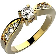 LINGER Rome ZP005 size 57 (585/1000; Weight 2.5g) - Ring