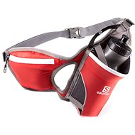 Salomon Hydro 45 belt bright red / iron - Sports waist-pack