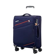 American Tourister Pikes Peak Spinner 55 Carbon Blue Case - Suitcase with TSA-Approved Lock