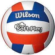 Wilson Super Soft Play Volleyball Red White Blue - Ball
