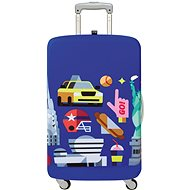 LOQI Hey - New York - Luggage Cover