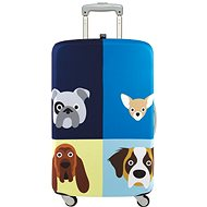 LOQI Stephen Cheetham - Dogs - Luggage Cover