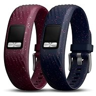 Garmin vívofit 4 Bands Merlot and Navy Speckle (S/M) - Strap