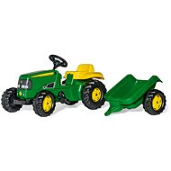 Rolly Kid J.Deere with trailer - Pedal Tractor