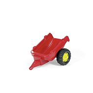 Tractor Trailer 1-axis - red - Pedal Tractor