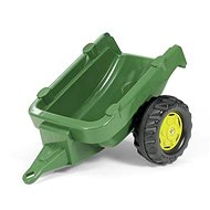 Single Axle Trailer - Dark Green - Pedal Tractor