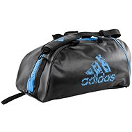 Adidas Training 2in1 Bag, blue and black - Sports Bag