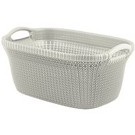 Curver Laundry Knit 40L Cream - Laundry Basket