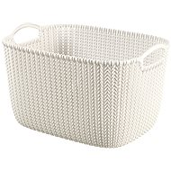 Curver Knit Collection Basket 19l Cream - Storage Box