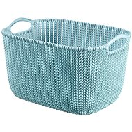Curver Knit Collection Basket 19l Blue - Storage Box
