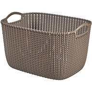 Curver Knit Collection Basket 19l Brown - Storage Box