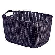 Curver Knit Collection Basket 19l Purple - Storage Box