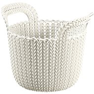 Curver Knit Round Basket 3l Cream