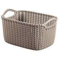 Curver Knit Basket 3l Brown