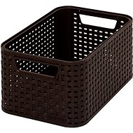 Curver Style basket in dark brown