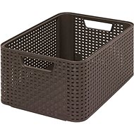 Curver Style box M dark brown - Storage Box