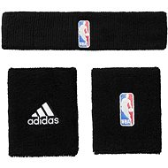 Adidas NBA Wristbands and Headband Black Mens - Set