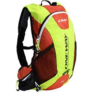 One Way Run Hydro Back 12l Yellow-Red - Sports backpack