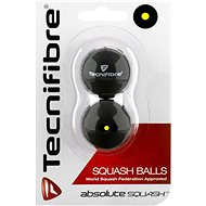 Tecnifibre single-pointed yellow - Squash Ball