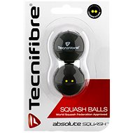 Tecnifibre two-pointed yellow - Squash Ball