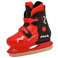 SPORTEAM KIDS black and red - Ice Skates