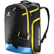 Salomon Extend Go-To-Snow Gear Bag Black/Blue/Yellow - Sports Bag