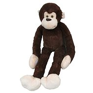 Plush monkey long hand 100cm, dark brown - Plush Toy