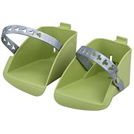 Polisport Koolah and Boodie Replacement Footrests, Green - Accessories