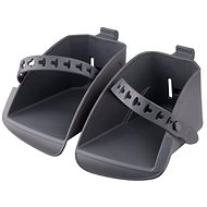Polisport Replacement Footrests for Koolah and Boodie Bicycle Seats, Dark Gray - Accessories