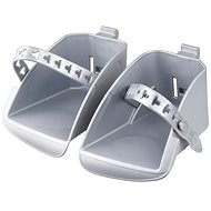 Polisport Koolah and Boodie Replacement Footrests, silver - Accessories