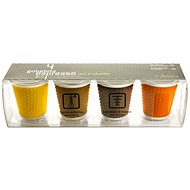 LES ARTISTES A-0792 mix, mug set 4pcs 100ml - Coffee Cups