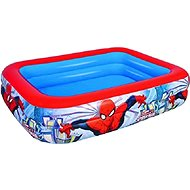 Inflatable Pool Rectangular Spider-Man - 201 x 150 x 51cm - Inflatable Pool