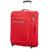 American Tourister Airbeat Upright 55 EXP Pure Red - Suitcase with TSA-Approved Lock