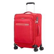 American Tourister Airbeat Spinner 55 EXP Pure Red - Suitcase with TSA-Approved Lock